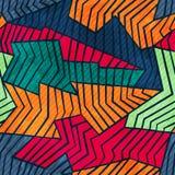 Grunge mosaic seamless pattern Royalty Free Stock Photography