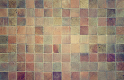Grunge mosaic tiles for background Royalty Free Stock Photography