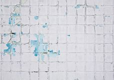 Grunge mosaic wall Royalty Free Stock Photo