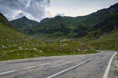 Grunge mountain road Stock Image