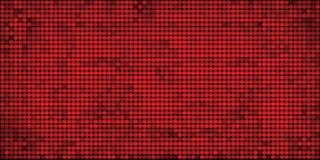Grunge mozaiki czerwony abstrakcjonistyczny tło Obraz Royalty Free