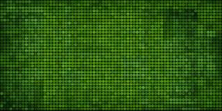 Grunge mozaiki zielony abstrakcjonistyczny tło Obraz Royalty Free