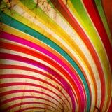 Grunge Multicolor dos Sunbeams ilustração do vetor