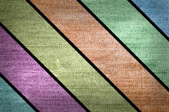 Grunge multicolored stripes jean Stock Image