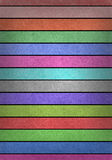 Grunge multicolored stripes recycled paper Royalty Free Stock Photography