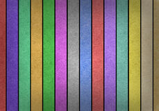 Grunge multicolored stripes recycled paper craft Stock Image