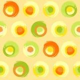 Grunge multicoloured okręgi Zdjęcie Stock