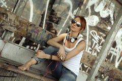 Grunge music Stock Photography