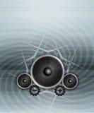 Grunge Music Stock Photo