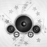 Grunge Music Royalty Free Stock Images