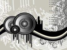 Grunge Music Background Royalty Free Stock Photo