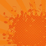 Grunge music background,  Stock Photos