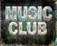 Grunge music club Stock Photos