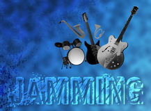Grunge Music Festival 1 Royalty Free Stock Photography