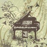 Grunge Music Instrument Background Stock Photography