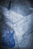 Grunge music instrument Stock Photography