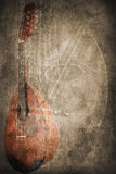 Grunge music instrument. Concept Background Stock Photo