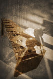 Grunge music instrument. Concept Background Royalty Free Stock Images