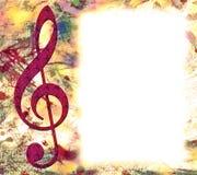 Grunge Music Poster Royalty Free Stock Image