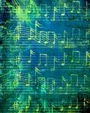 Grunge music sheet Stock Photo