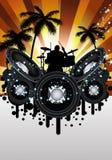 Grunge music srtyle Stock Photo