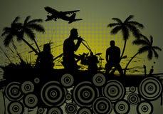 Grunge music srtyle Royalty Free Stock Photography