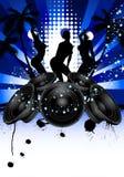 Grunge music srtyle Stock Photography