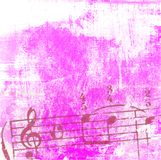 Grunge music textures and backgrounds Stock Images