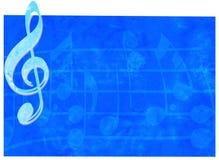 Grunge Musik-Hintergrund Stockfoto