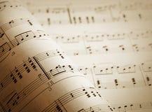 Grunge Musikalhintergrund Lizenzfreies Stockbild