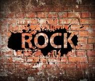 Grunge muzyki rockowej plakat Obraz Stock