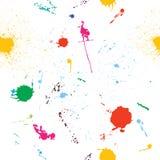 Grunge nahtloses Muster Stockbilder