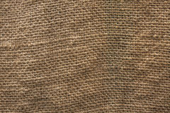 Grunge natural linen texture background. Old rustik canvas close Stock Images