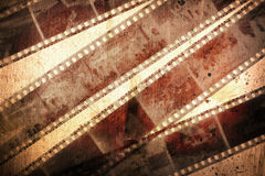 Grunge negative films background Royalty Free Stock Image