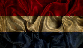 Grunge Netherlands flag background Stock Photography