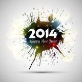 Grunge New Year background Stock Photos