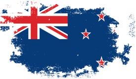Grunge new zeland flag Royalty Free Stock Photography