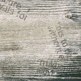 Grunge newspaper background. Grunge newspaper old background with wood texture stock photo