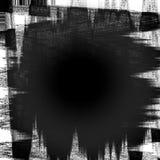 Grunge noire de toile illustration stock