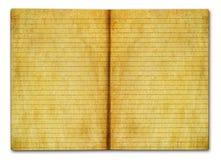 grunge notatnik Zdjęcie Stock