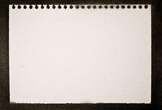 grunge notepad druku Zdjęcia Royalty Free