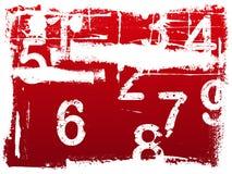 Free Grunge Number Background Royalty Free Stock Photo - 2802995