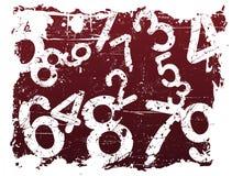 Free Grunge Number Background Royalty Free Stock Image - 3133286