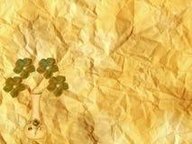 Design för vase för pappers- bakgrund för Grunge gammal Arkivbild