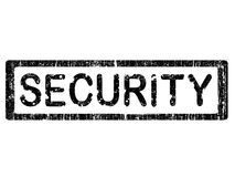 Grunge Office Stamp - SECURITY Royalty Free Stock Photos