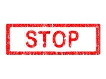 Grunge Office Stamp - STOP vector illustration