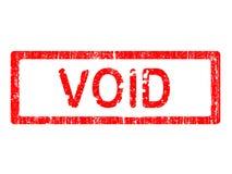 Grunge Office Stamp - VOID Stock Photos