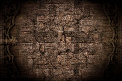 Grunge old basketwork texture bamboo pattern, can be used as bac Stock Images