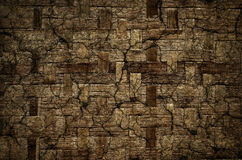 Grunge old basketwork texture bamboo pattern, can be used as bac. Kground Stock Photos