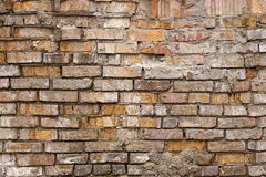 Grunge old brick wall. Texture background royalty free stock images